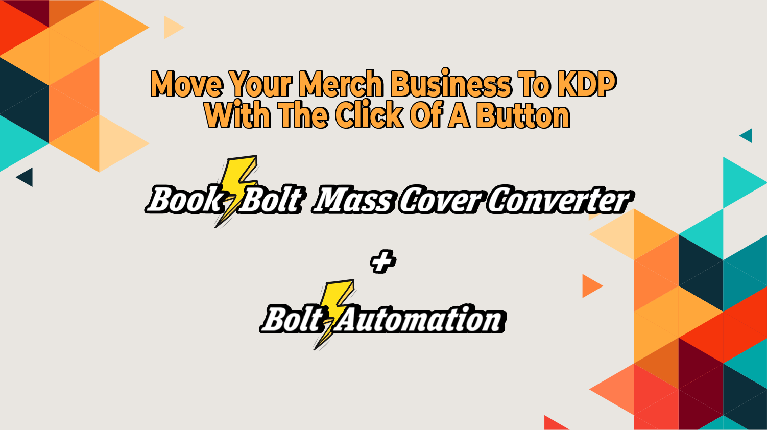 How To Move Your Merch Business To KDP With The Click Of A